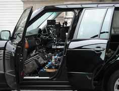"I can't even imagine how they coordinate these scenes. James Bond ""Skyfall"" in camera car rig"
