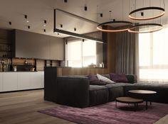 Modern apartment for young girl - Галерея 3ddd.ru