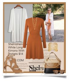 """Shein For Fall"" by beleev ❤ liked on Polyvore featuring Miss Selfridge, ToyShades and Aurélie Bidermann"