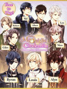 Midnight Cinderella:Otome Game- screenshot