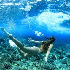 Freediving...