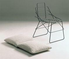 Silla 'Sof sof', Enzo Mari, 1972
