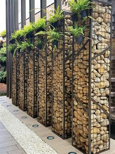 422 Best Gabion Wall Sustainable Walls Images In 2018