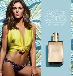 Bronze Goddess - Estee Lauder the best bronzer out there, the model Hillary makes it look beautiful! Cologne, Bruce Boxleitner, Estee Lauder Bronze Goddess, Best Bronzer, Hilary Rhoda, Perfume Reviews, Best Fragrances, Joan Smalls, Face Treatment