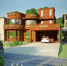 Saudi Arabian House Designs House Elevation, Front Elevation, Farm House  For Sale, Indian