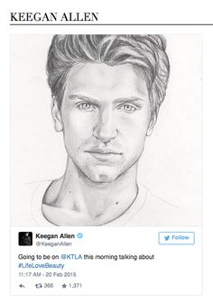Keegan Allen, Pretty Little Liars, ABC Family