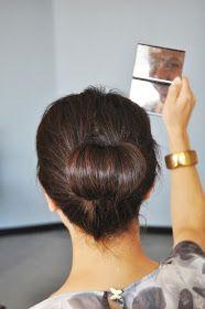 Ducklings In A Row - Hair + DIY Tutorials: Shoulder Length Hair Tutorial - The Chestnut Bun
