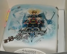 My awsome KH Birthday Cake: 18th by *sorawolfkiba on deviantART