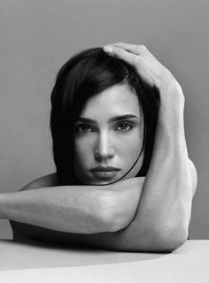 Jennifer Connelly / Actress / Black and White Photography