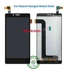 100% Tested Redmi note lcd Display + touch screen 100% Guarantee Hongmi Note 4G WCDMA Accessory For Red Rice Mobile Phone #Affiliate