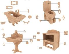 como hacer un mueble de carton para muñecas - Buscar con Google