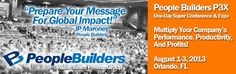 Luch is on us. Join us tomorrow. People Builders Aug 1 -3, 2013 FL event