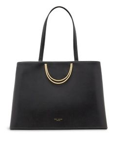 TED BAKER Fold Handle Large Leather Tote.  tedbaker  bags  leather  hand 032a4dd202