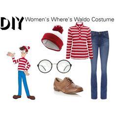 5 last minute halloween costumes wheres waldo costume halloween diy womens wheres waldo costume by reneeward400 solutioingenieria Gallery