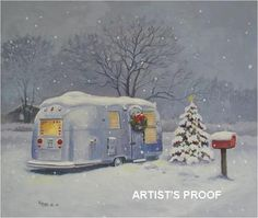 christmas cards with campers - Bing Images