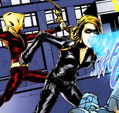 Speedy and Black Canary → Smallville Hollow Part 1