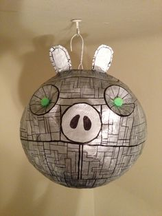 Angry Birds Star Wars - Death Pig Piñata