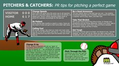 How we liken #baseball to #PR - all those #pitches! #marketing #infographic  - epublicitypr.com