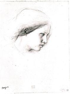 Degas, Studie voor Semiramis, 1860-1862