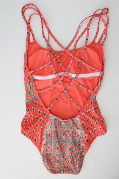 Nanette Lepore: Bindi Strappy One Piece Swimsuit