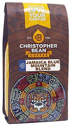 Christopher Bean Coffee Gourmet Ground Coffee, Jamaica Blue Mountain Blend, 12 Ounce by Christopher Bean Coffee -- Awesome products selected by Anna Churchill