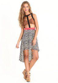 Playful Banter Cutout Dress
