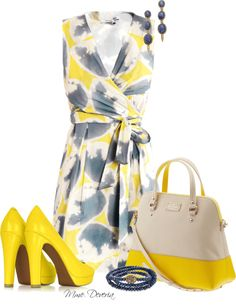 """""""Kate Spade for summer"""" by madamedeveria ❤ liked on Polyvore"""
