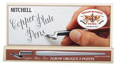 William Mitchell Copperplate Pen Card