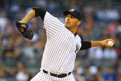 NEW YORK, NY - MAY 23:  Andy Pettitte #46 of the New York Yankees  pitches against the Kansas City Royals during their game on May 23, 2012 at Yankee Stadium in the Bronx borough of New York City.  (Photo by Al Bello/Getty Images)