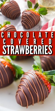 Chocolate Covered Strawberries: easy to make, and the perfect ending to a romantic date-night-in. #chocolatecoveredstrawberries #chocolatedippedstrawberries #howtomake #recipe #ideas #milk #easy #valentines #DIY #wedding #designs #white #videos #christmas #babyshower #gift #best #dark #mothersday #fancy #perfect #storing #homemade #forvday #tips #microwave #bakingamoment Cheap Chocolate, Chocolate Cake Recipe Easy, Decadent Chocolate, How To Make Chocolate, Melting Chocolate, Easy Cake Recipes, Sweets Recipes, Candy Recipes, Easy Dinner Recipes
