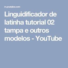Linguidificador de latinha tutorial 02 tampa e outros modelos - YouTube