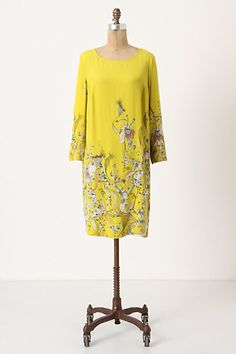 . Blooming Whin Shift #anthropologie