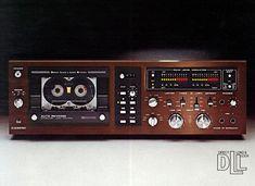 Direct Load & Lock | DUAL C839RC (1979) Recording Equipment, Audio Equipment, Vintage Tv, Vintage Music, Hi Fi System, Tape Recorder, Record Players, Hifi Audio, Audiophile