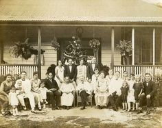 Richard on the left is accompanied by his wife, Sophia Fruean, and their two children. Sophia was a third-generation descendant of Charles Fruean and Meleane Toluma'anave, of Lefaga.
