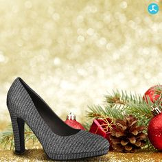 Cheer, Pumps, Christmas, Fashion, Xmas, Moda, Humor, Fashion Styles, Court Shoes
