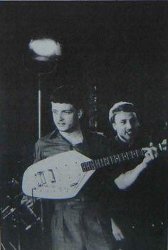 Ian with his Phantom Vox Guitar