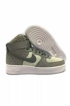 c3bd1d37e20b NEW NIKE AIR FORCE 1 HI PRM SUEDE SILVER GREY white WOMEN Sz 9.5   845065-001   Nike  AthleticShoes