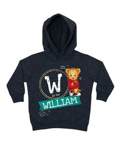 Charcoal Daniel Tiger Personalized Hoodie - Toddler & Kids