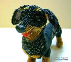 Amazing beaded toys by Marina Konstantinova | Beads Magic