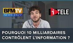 Médias : pourquoi 10 milliardaires contrôlent notre information ? - Blab...