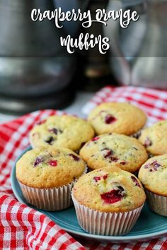 Cranberry Orange Muffins Best Muffin Recipe, Simple Muffin Recipe, Cranberry Orange Muffins, Cranberry Recipes, Recipe Using Cranberries, Banana Nutella Muffins, Bakers Gonna Bake, Scones