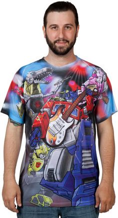 Autobots Rock Sublimation Shirt