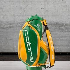 Rickie Fowler's U.S. Open bag will celebrate the Green Bay Packers - Golf Digest Cobra Golf Clubs, Adidas Golf Shoes, Rickie Fowler, Golf Drivers, Golf Towels, Golf Humor, Golf Accessories, Play Golf, Green Bay Packers