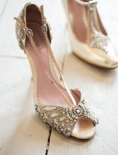47 Gorgeous Vintage Wedding Shoes   HappyWedd.com