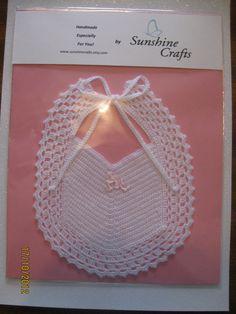 Baby Bib by SunshineCrafts on Etsy, $15.00