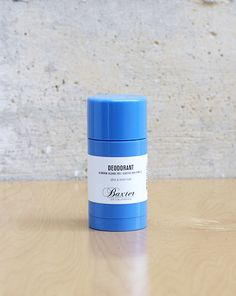 Baxter of California, men's deodorant