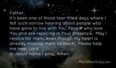 Evening Prayer ~ March 8 - JoyfulTimesToday.com