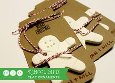 Looking for something inexpensive to share with school friends. Create your very own Christmas ornaments using cornstarch and baking soda. Its also a great way to get the little ones involved. Last year I created my own salt dough ornaments/gift tags and this recipe works so much better. I just