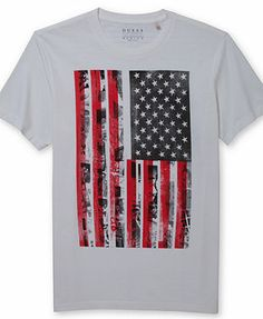 GUESS Flag Graphic T-Shirt