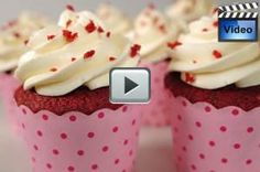 Red Velvet Cupcakes with cream cheese frosting - Joyofbaking.com frosting made 8/8/15 with banana cake. Much more like a whipped cream cream cheese frosting. Good but tyrel doesnt like it.
